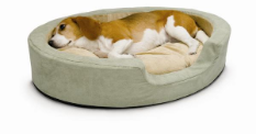 Thermo Snuggly Sleeper ™ Heated Dog Bed