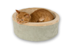 Thermo-Kitty Bed - Indoor Heated Cat Bed