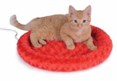Thermo-Kitty Fashion Splash™ Heated Cat Bed
