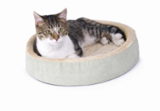 Thermo-Kitty Cuddle Up ™ Heated Cat Bed