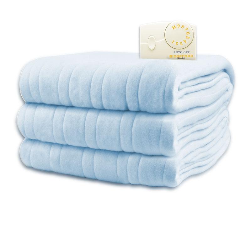 Biddeford Comfort Knit Electric Blanket Analog